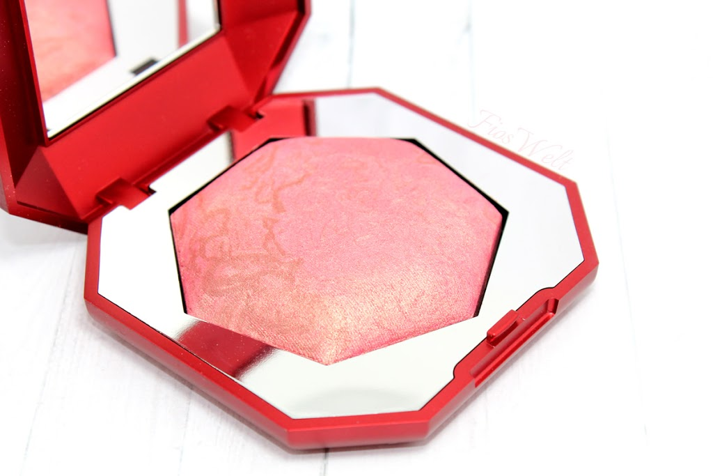 Moon Dust Face Powder - 01 Mysterious Pink