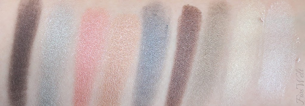 I love soft metals eyeshadow Swatch