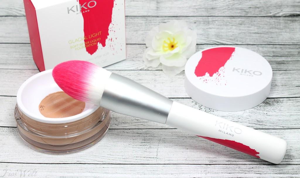 Kiko The Artist Foundation Face Brush