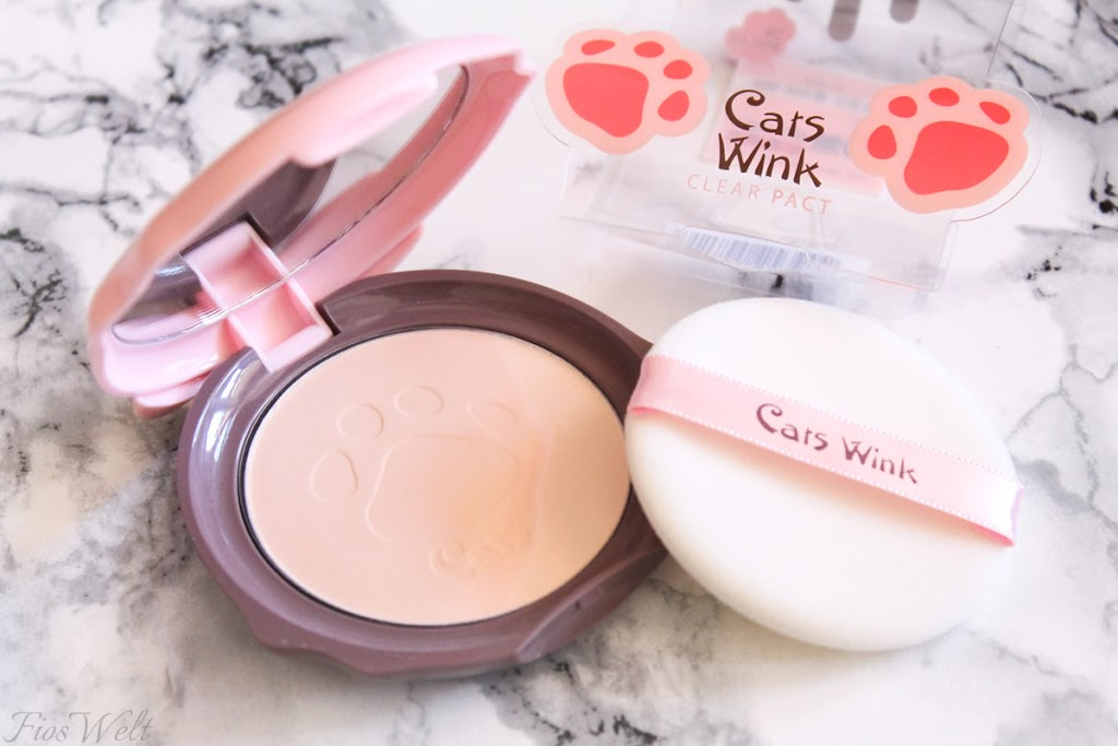 TONYMOLY - Cats Wink Clear Pact