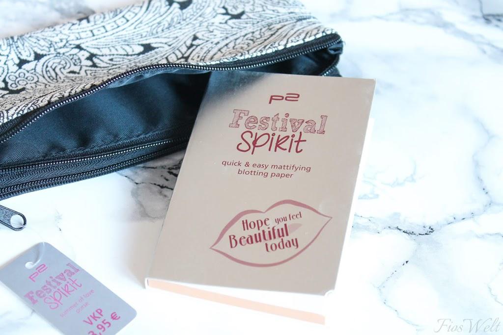 Festival Spirit - quick & easy mattifying blotting paper