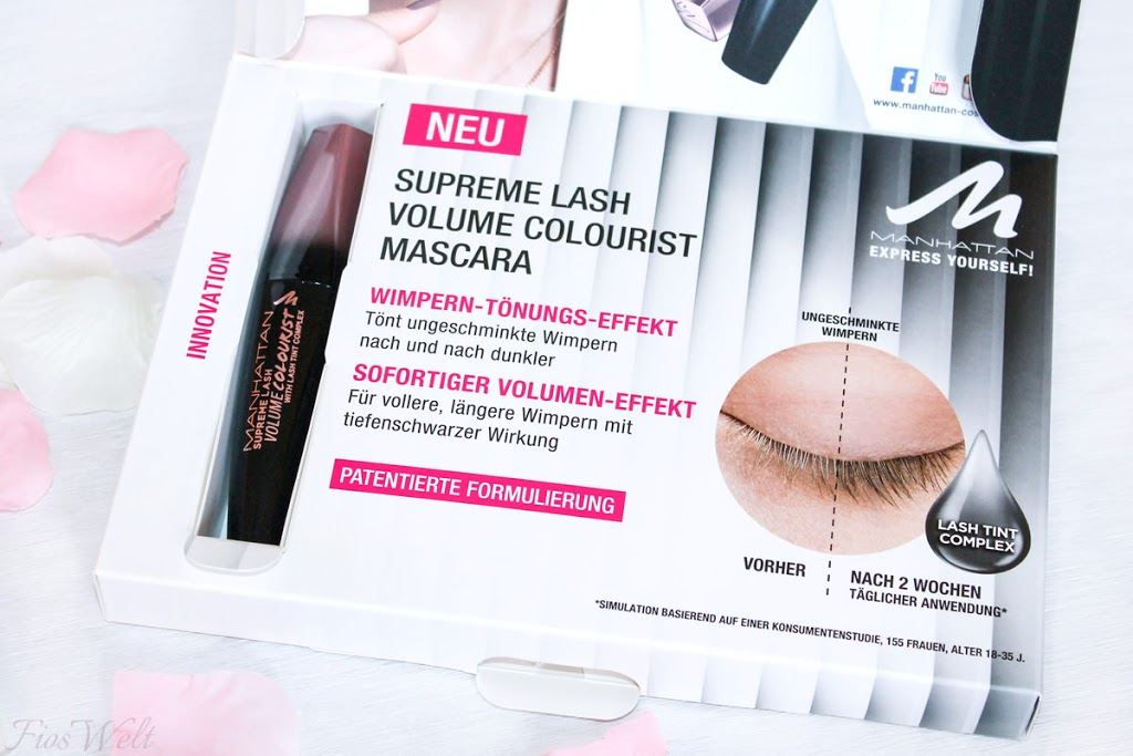 Manhattan Supreme Lash Volume Colourist Mascara