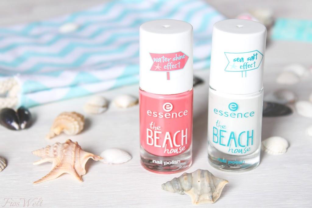 The BEACH house Nagellack - beachy keen u. sandy toes & salty kisses