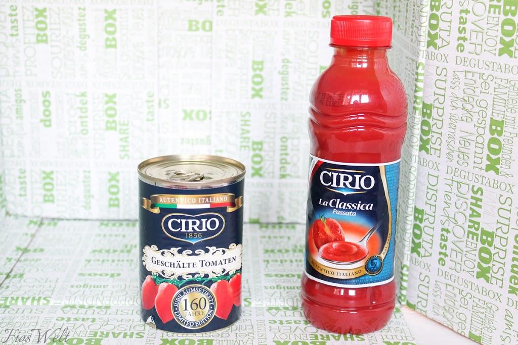 Cirio Geschälte Tomaten