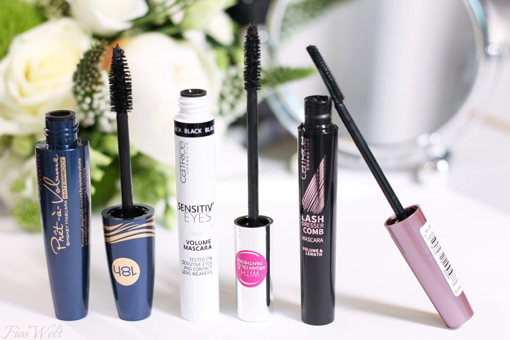 Prêt-à-Volume Smokey Mascara - Sensitiv' Eyes Volume Mascara - Lash Dresser Comb Mascara