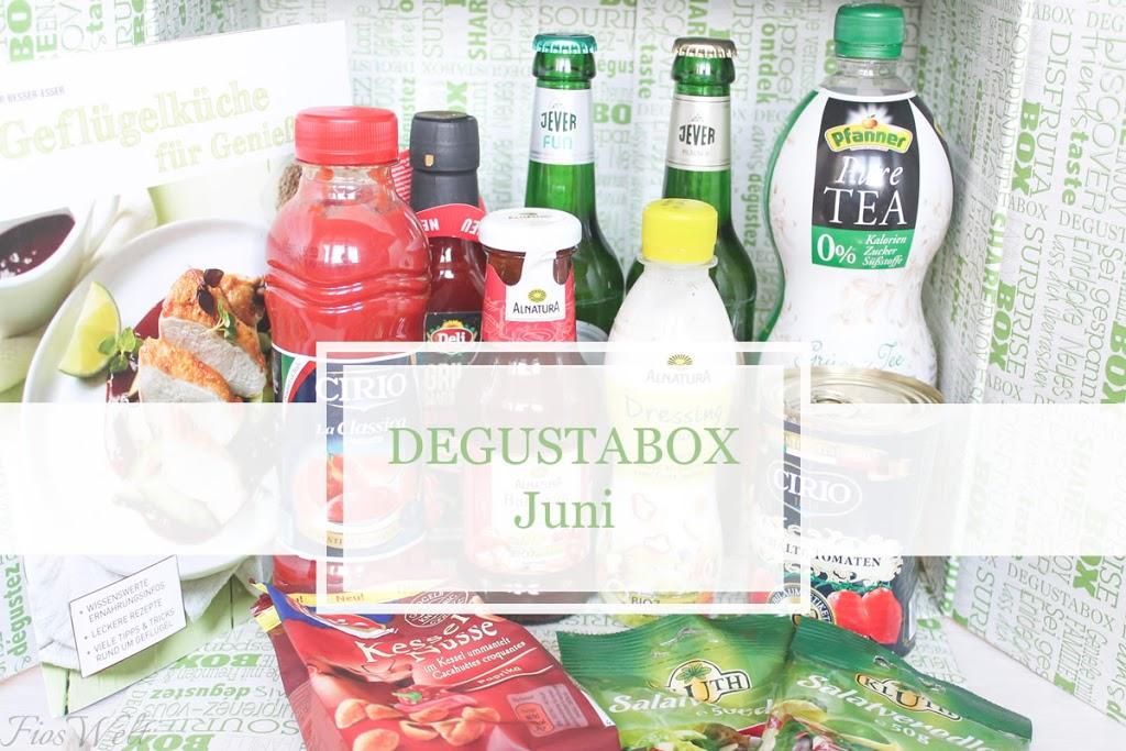 Degustabox Juni