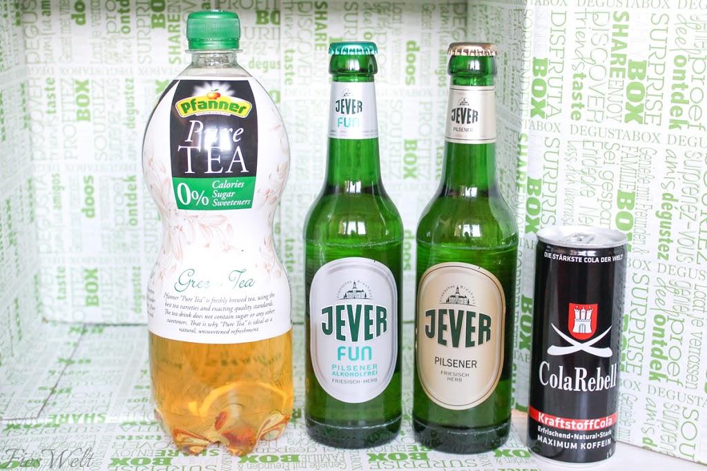 Pfanner Pure Grüner Tee