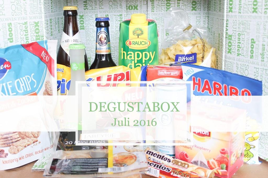 Degustabox Juli
