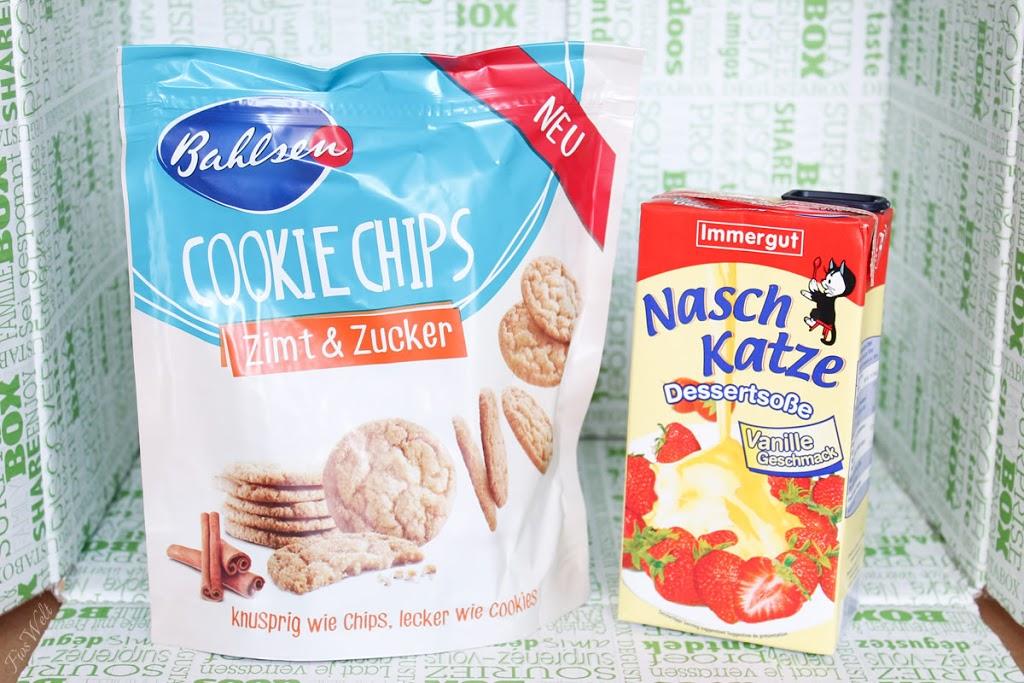 Bahlsen Cookie Chips Zimt & Zucker