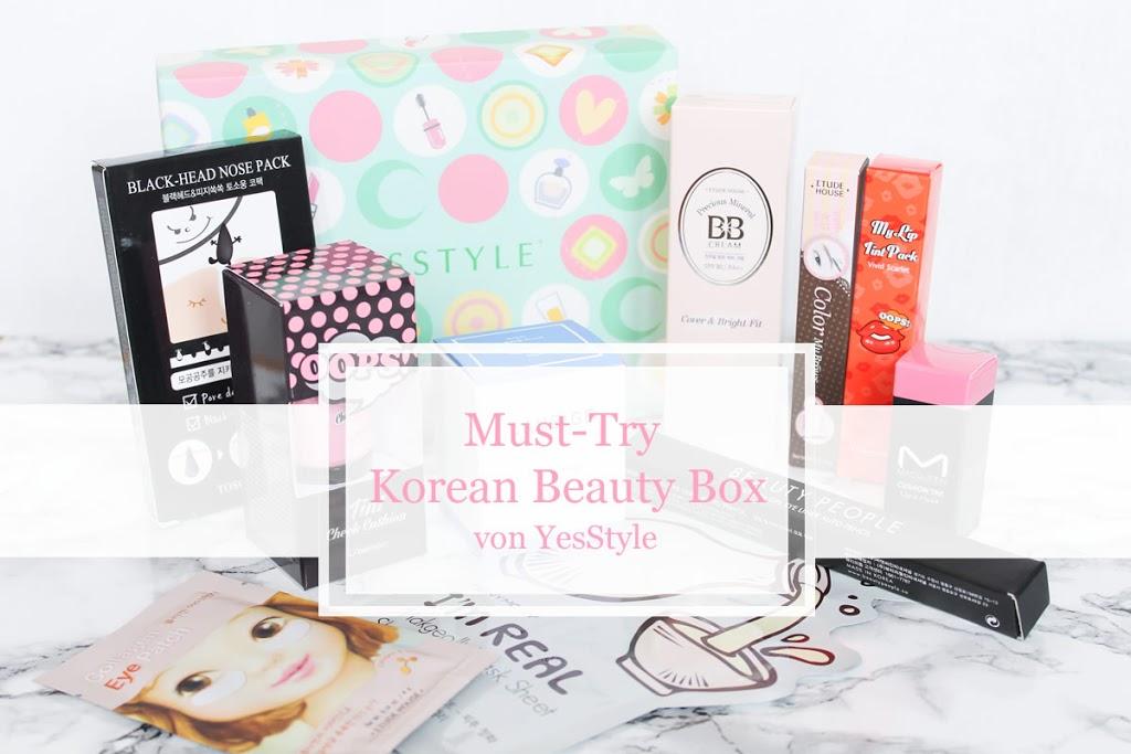 Beautyprodukte aus Korea