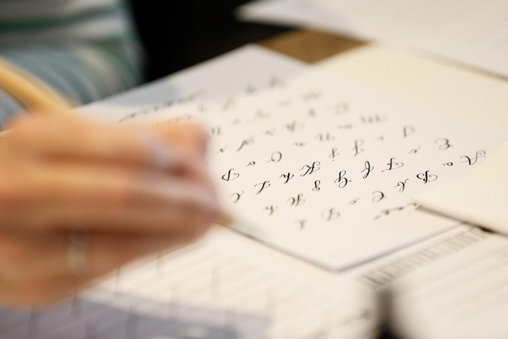 Kalligrafie üben