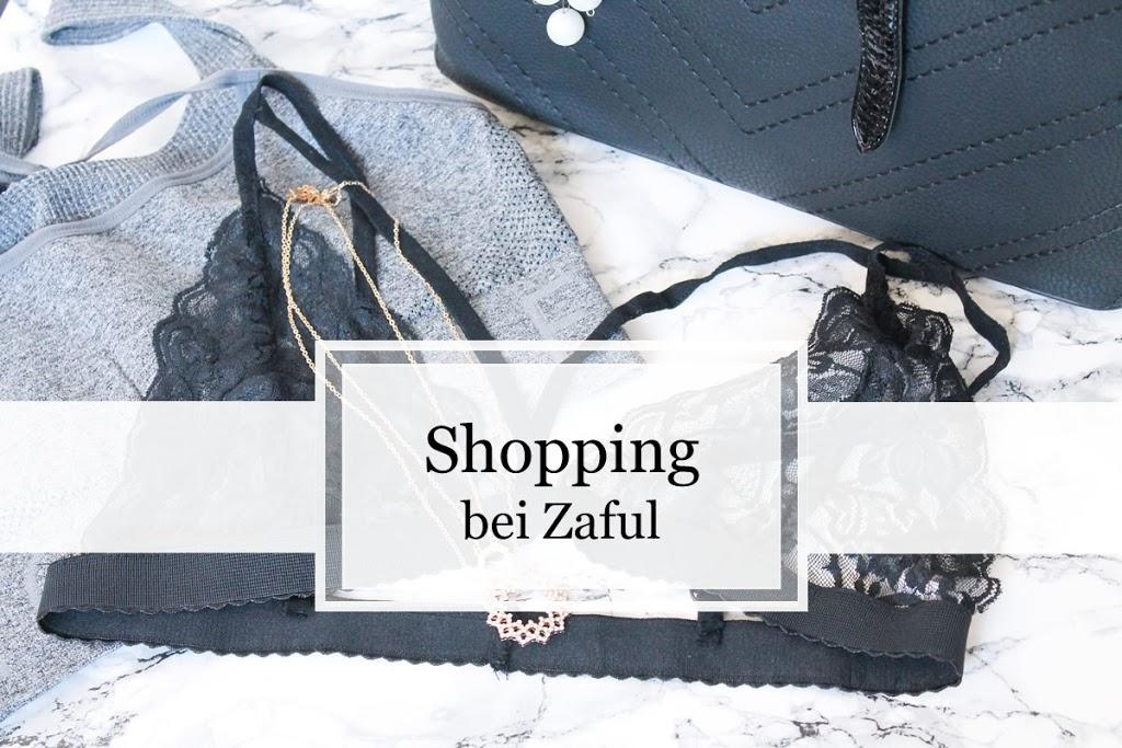 Shopping-Haul bei ZAFUL