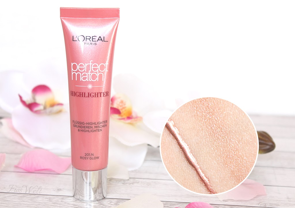 Liquid Perfect Match Highlighter - Rosy Glow