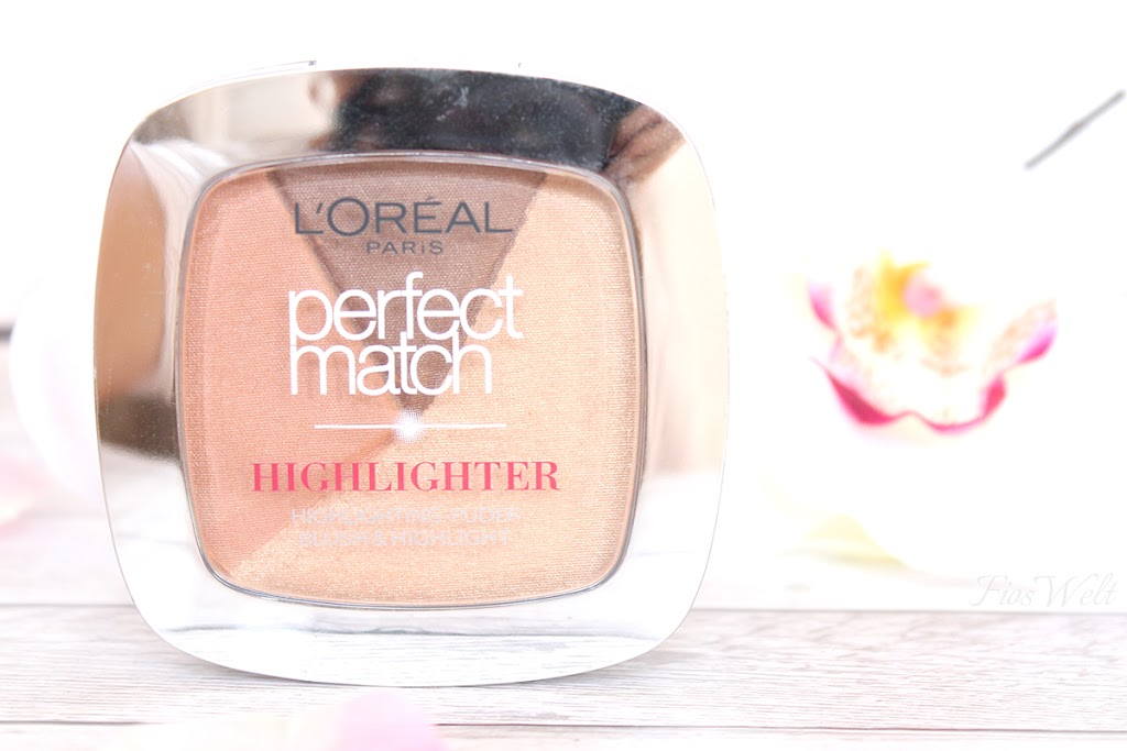 Puder Perfect Match Highlighter - Golden Glow