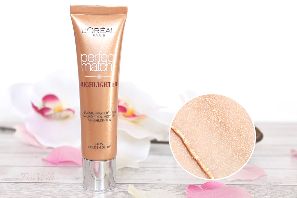 Liquid Perfect Match Highlighter - Golden Glow