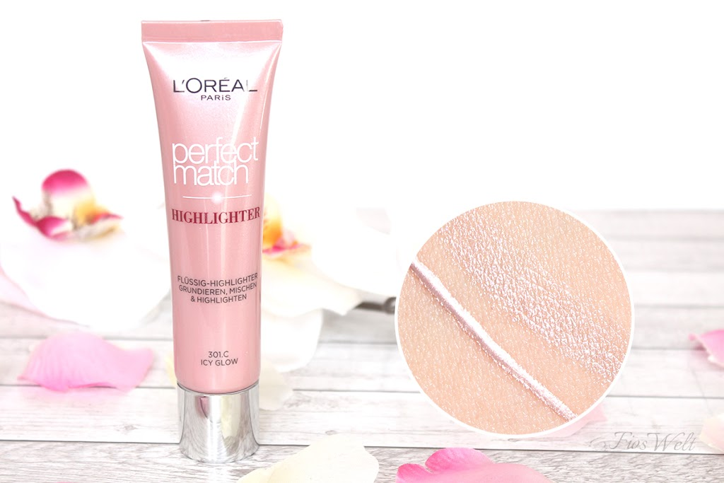 Liquid Perfect Match Highlighter - Icy Glow