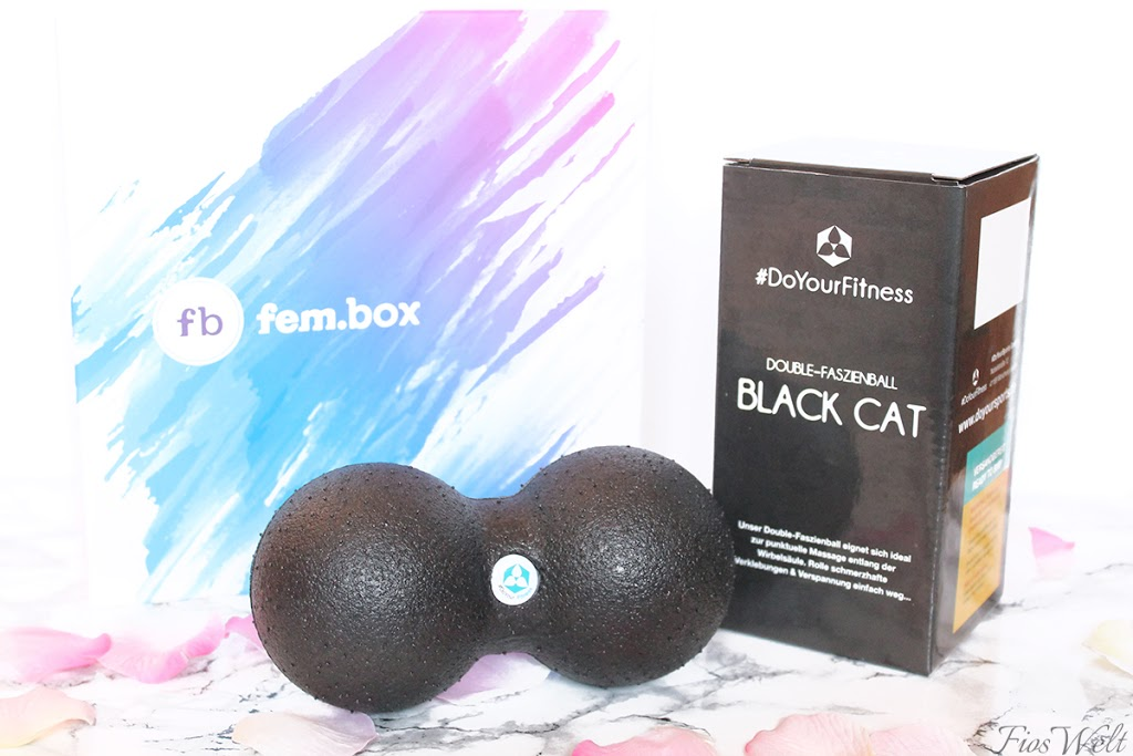 "#DoYourSports ""Black Cat"" Double-Faszienbal"