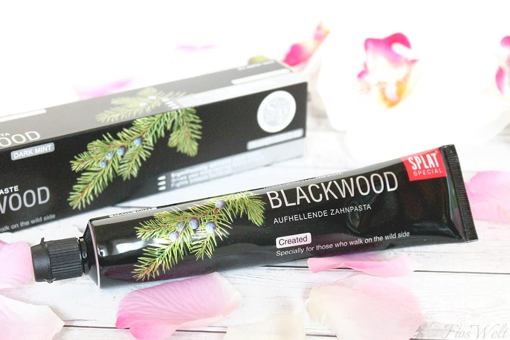 Splat Blackwood Aufhellende Zahnpasta