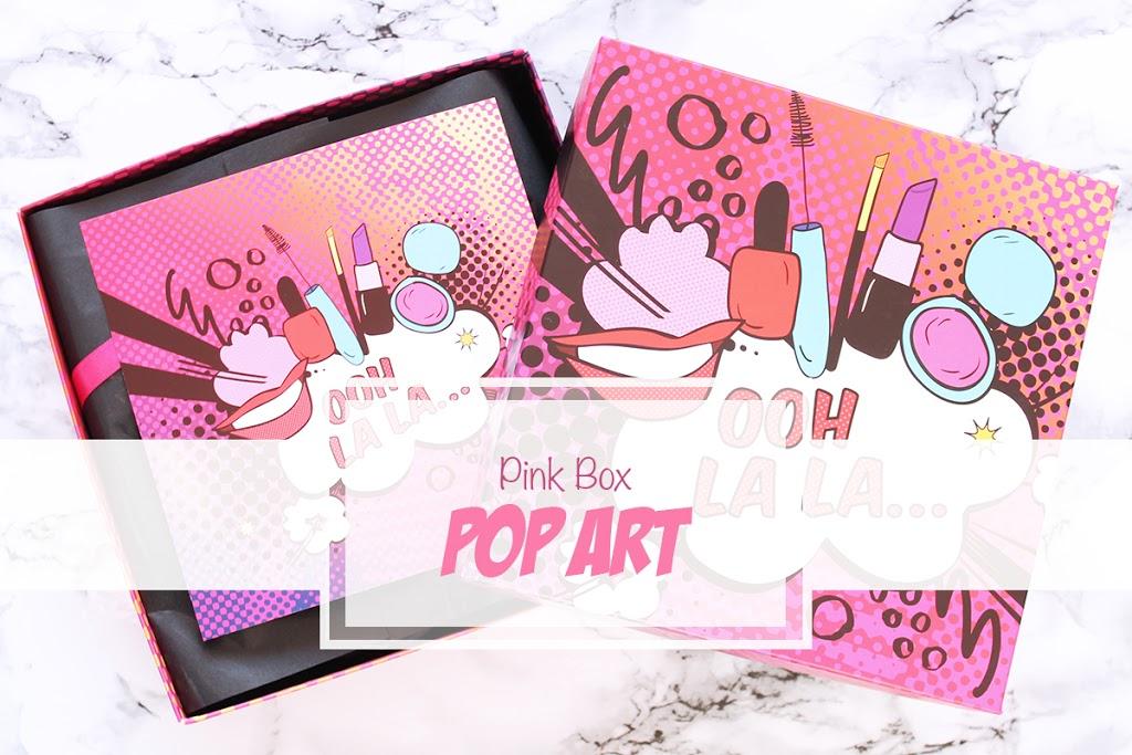Pink Box POP ART