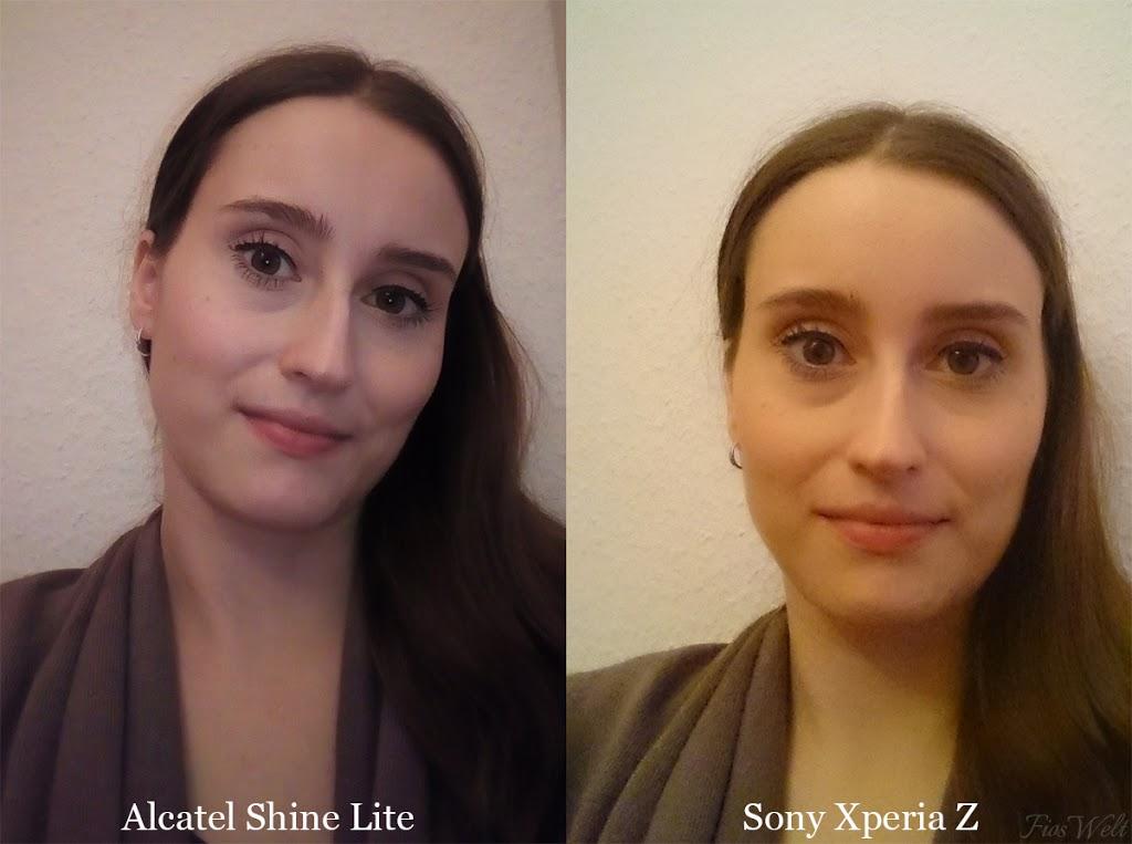 Alcatel Shine Lite Vergleich
