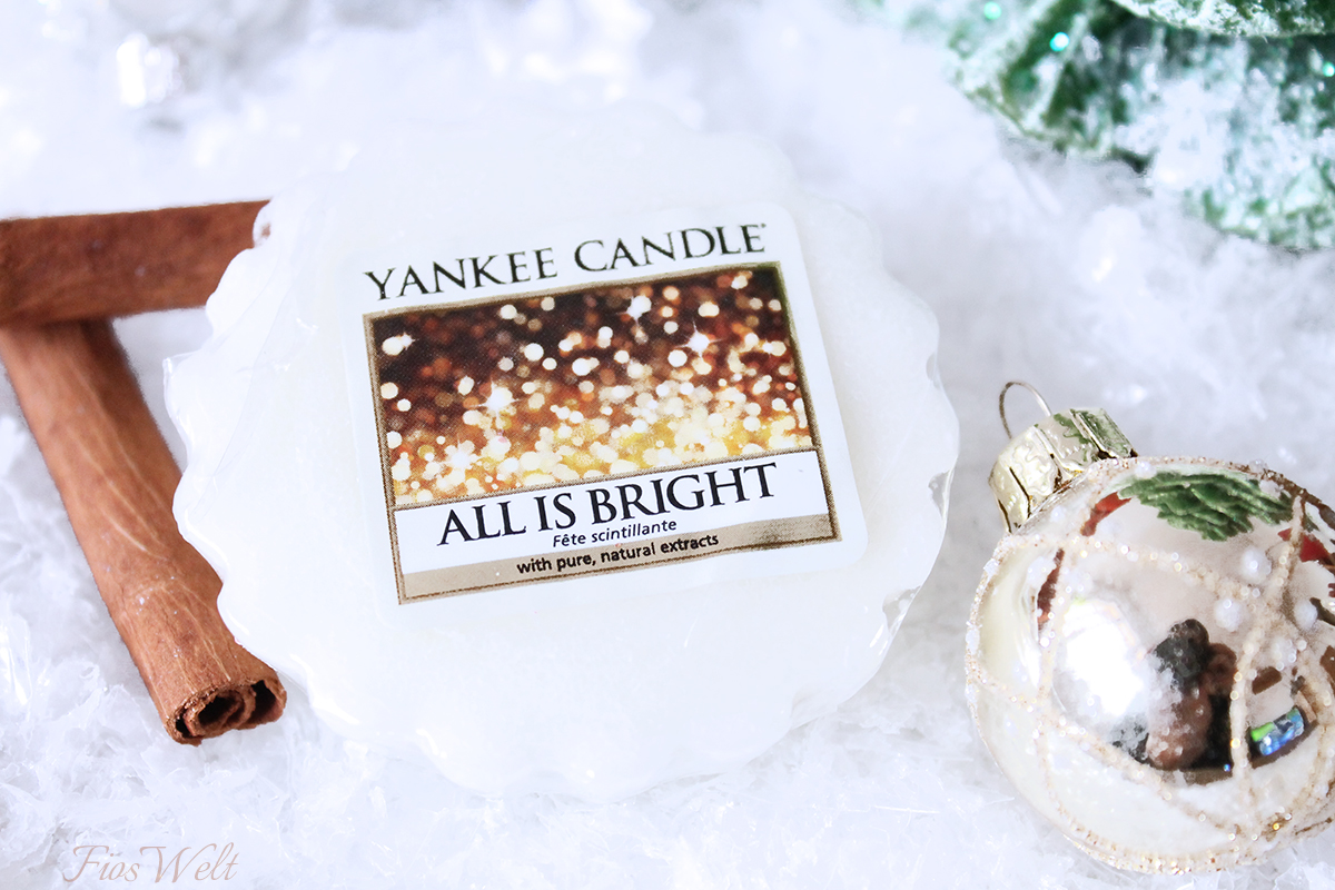 Yankee Candles All Is bright