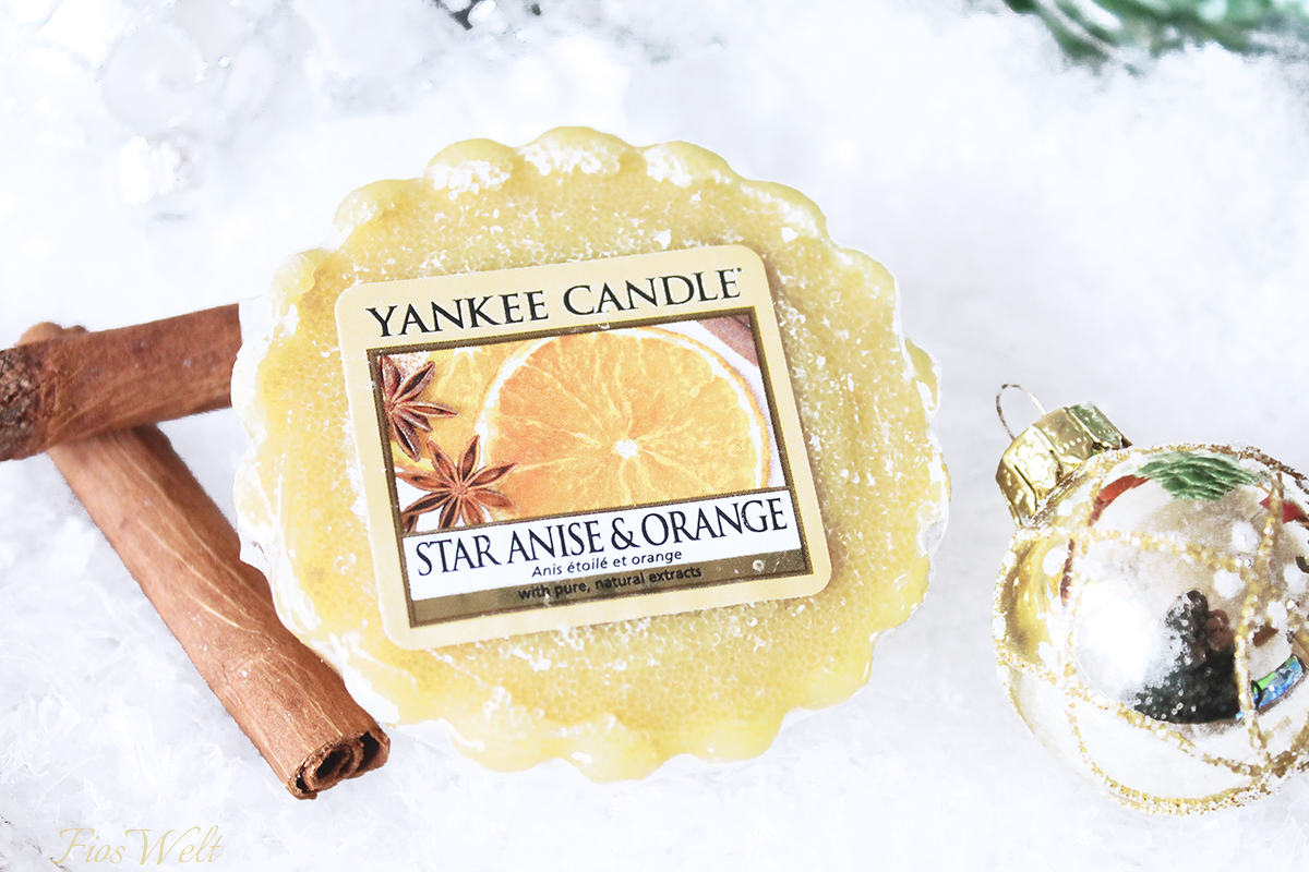 Yankee Candles Star Anis Orange