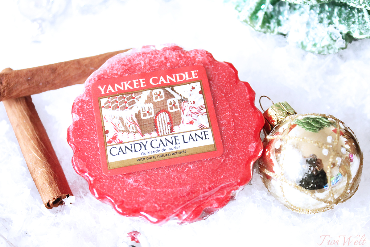 Yankee Candles Candy Cane Lane