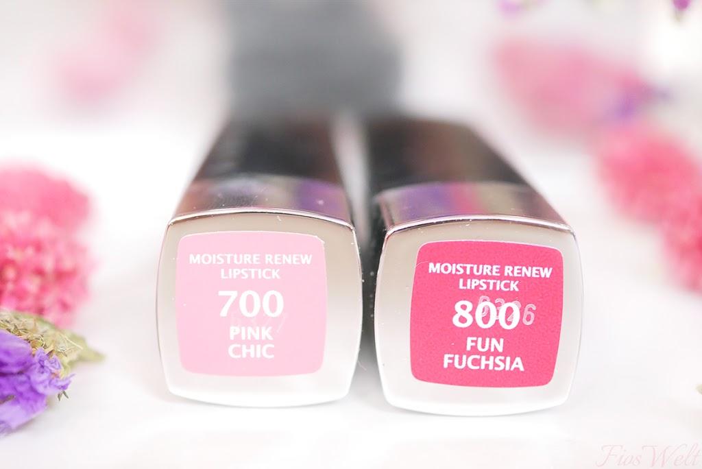 Manhattan Moisture Renew Lipstick -Pink
