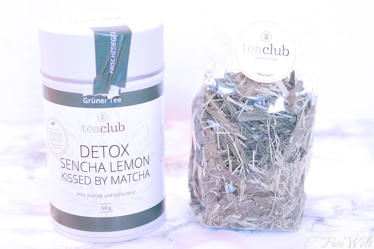 teaclub DETOX - Sencha Lemon