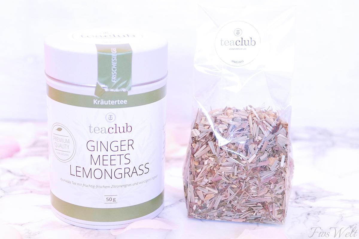 teaclub Ginger Meets Lemongrass