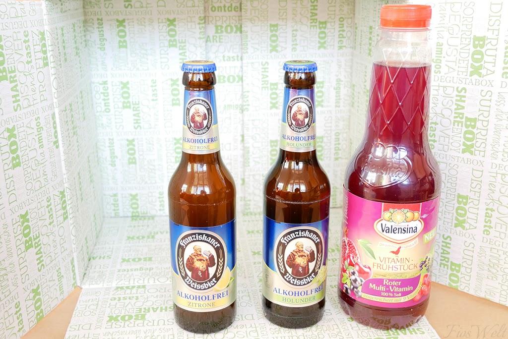 Franziskaner Alkoholfrei Zitrone/Holunder