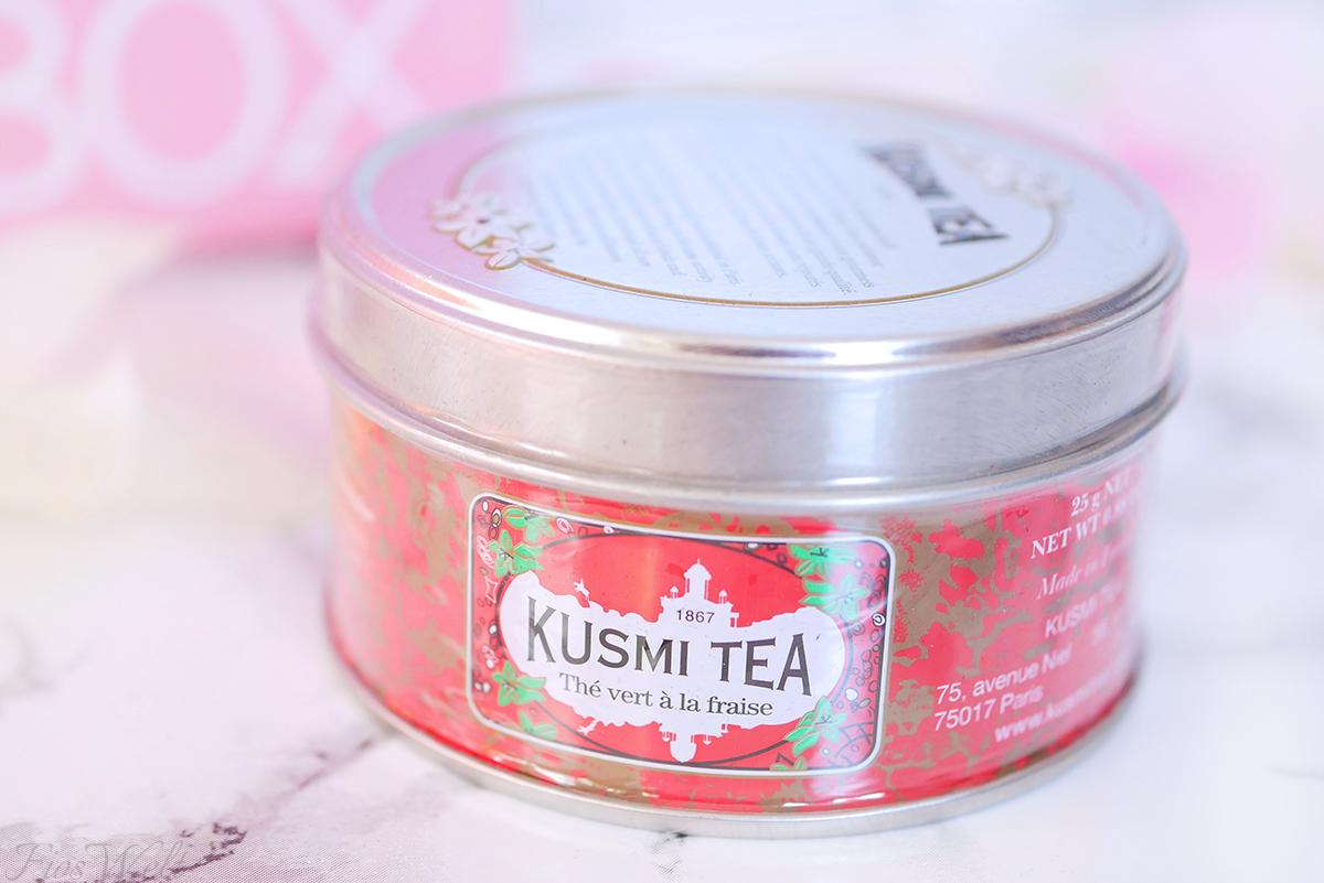 Kusmi Tee mit Erdbeere