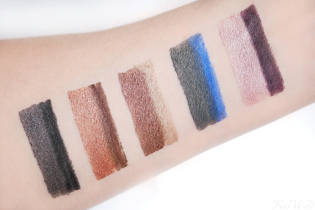 Eyemazing Double Effect Eyeshadow & Liner Swatch