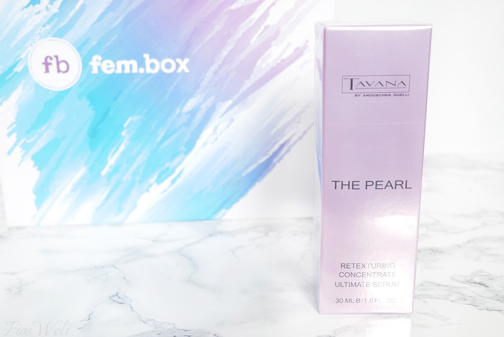 Tavana The Pearl Retexturing Concentrate Ultimate Serum