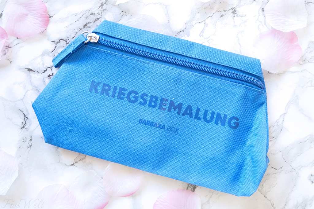 """Kosmetiktasche """"Kriegsbemalung"""""""