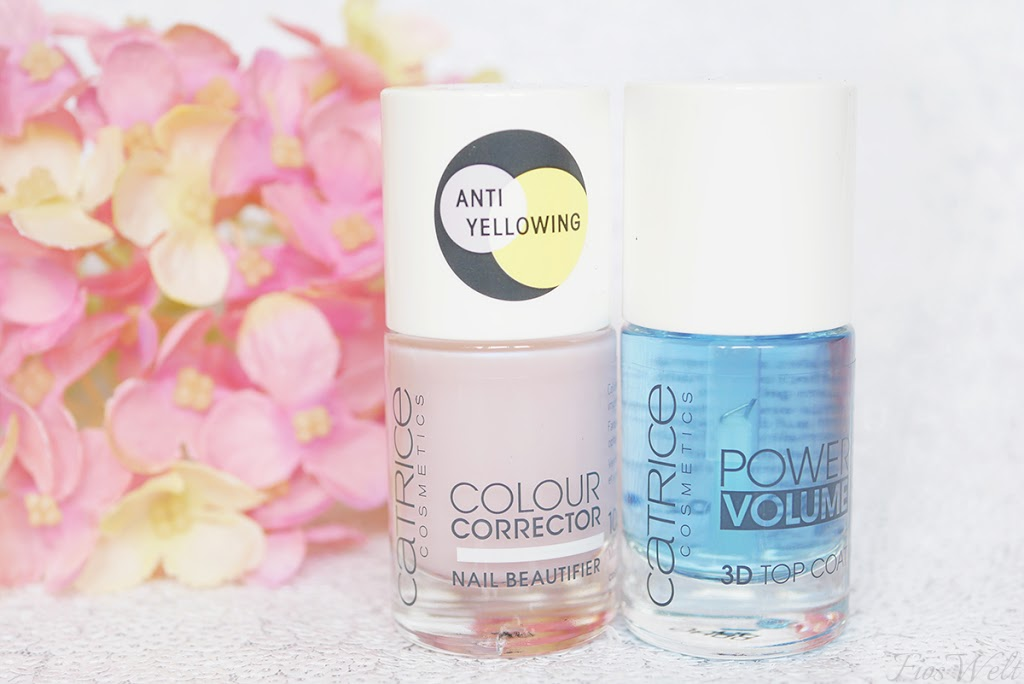Power Volume 3D TopCoat & Colour Corrector Nail Beautifier
