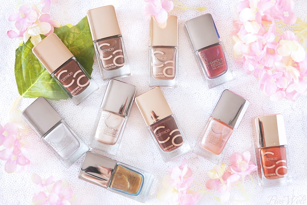 Catrice Brown Collection & Chrome Infusion Nagellacke