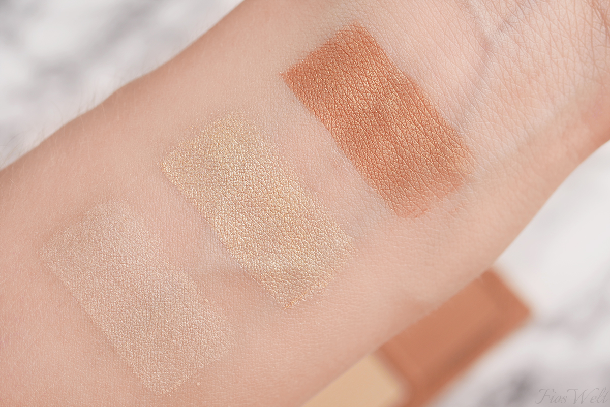 The GLOWrious Gold Addiction Swatch