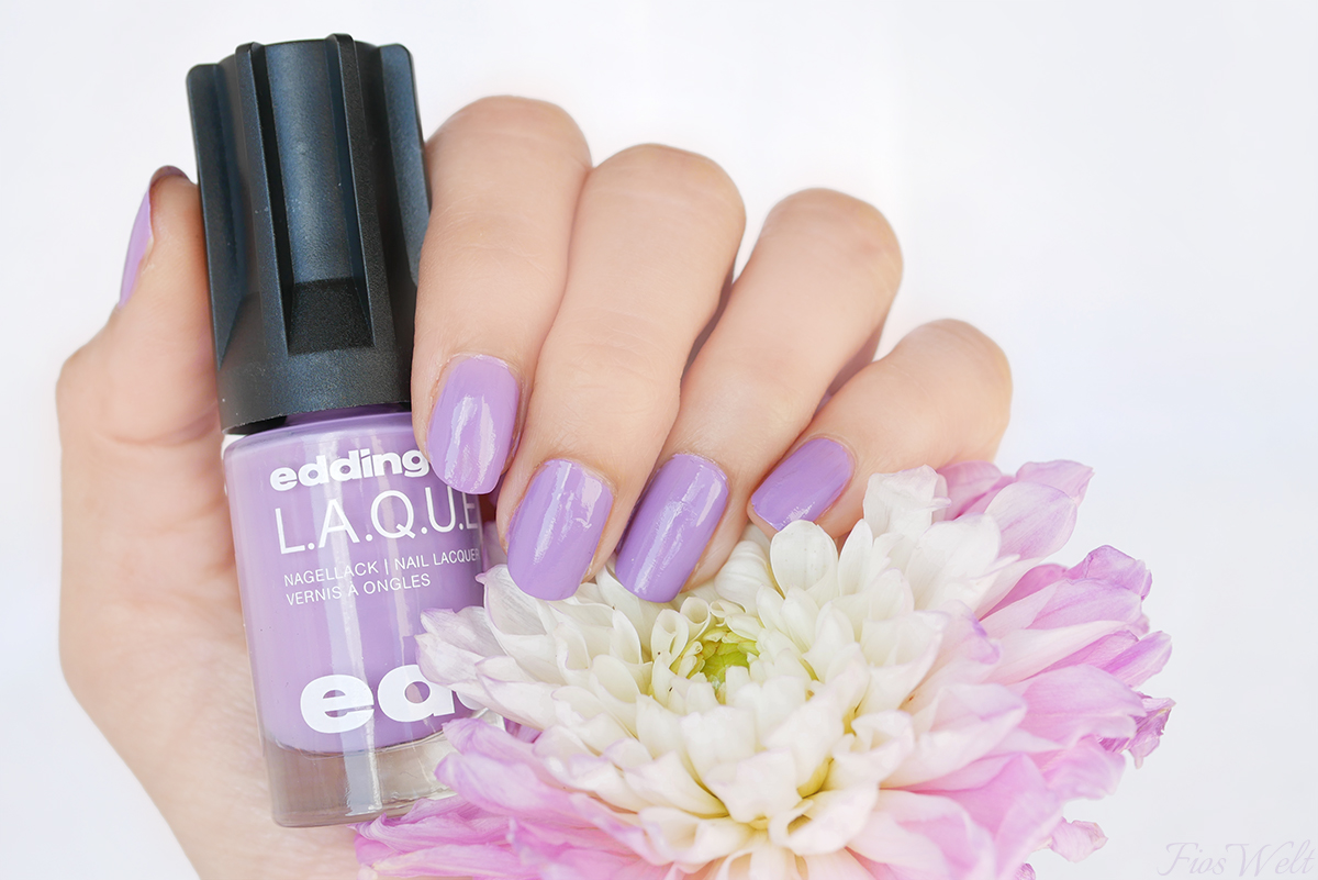 edding L.A.Q.U.E Lovely Lavender