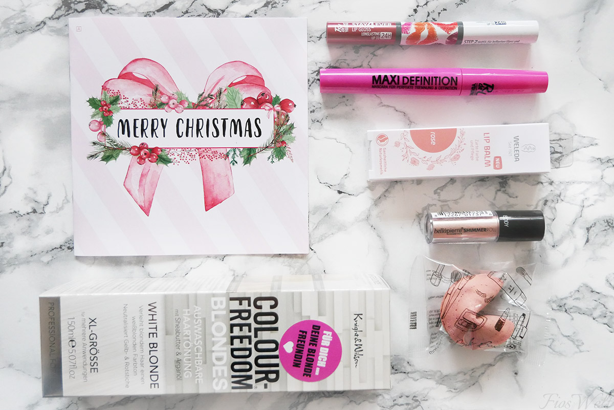 Pinkbox Dezember 2017