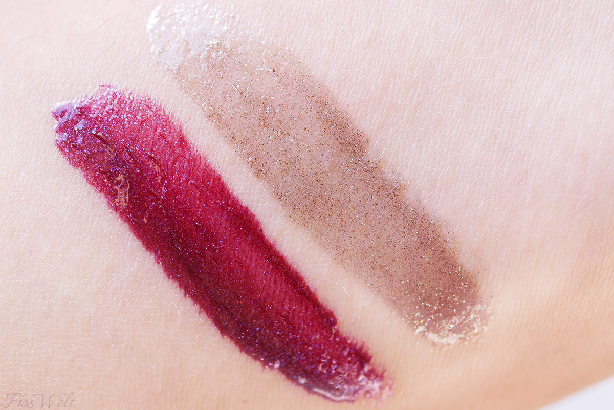 Dazzling Dust Lipgloss Swatch