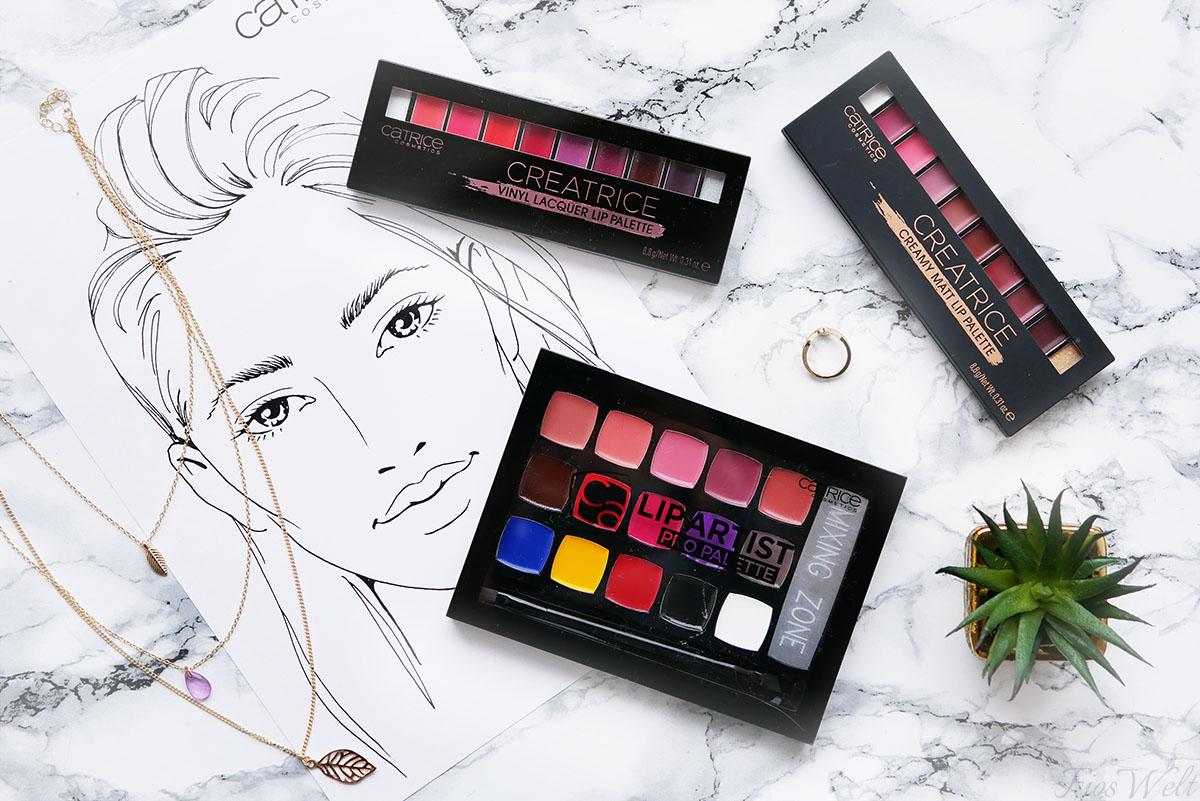Creatrice und Lip Artist Pro Paletten