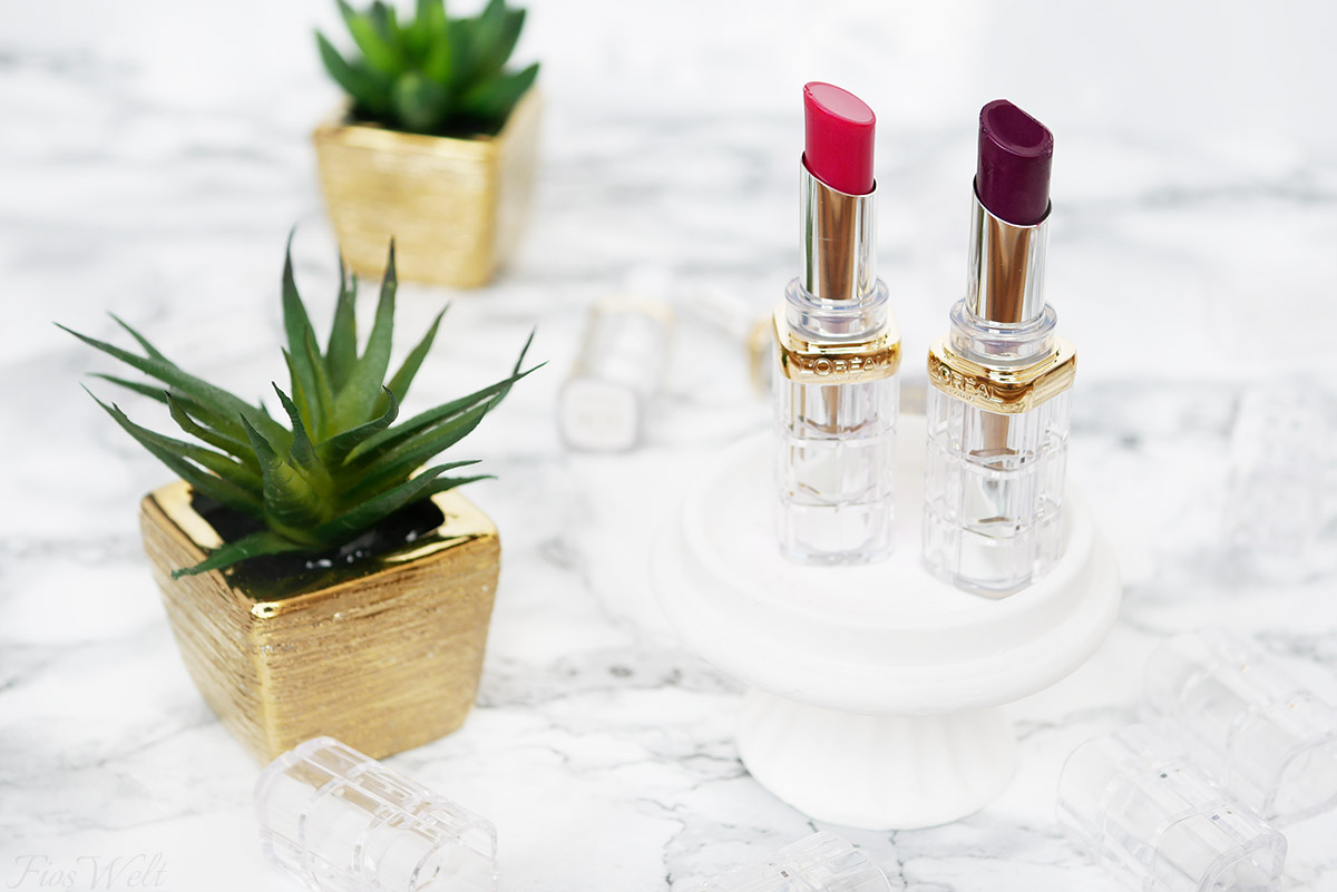 L'Oréal Color Riche Shine Lippenstifte Pink
