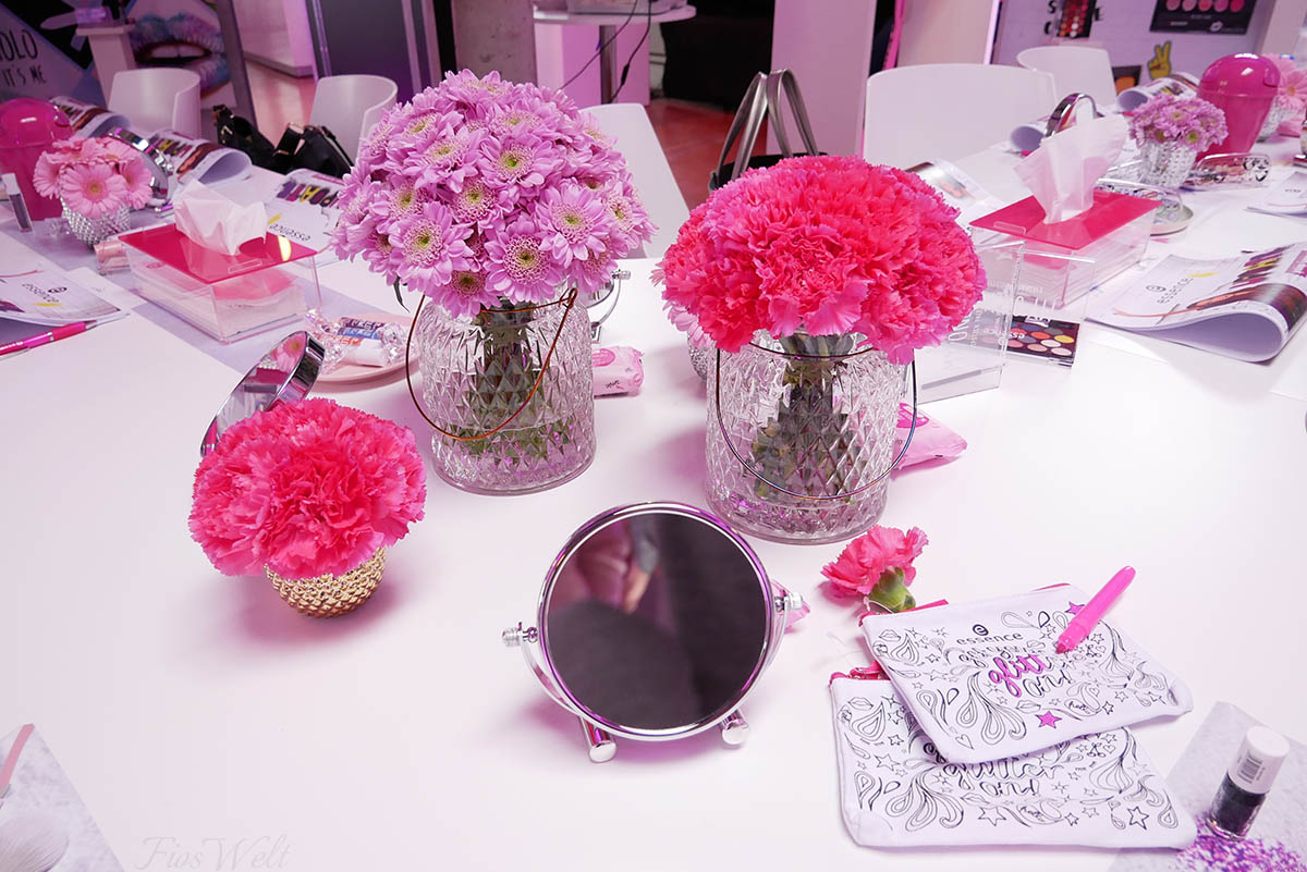 Essence Blogger Event Deko