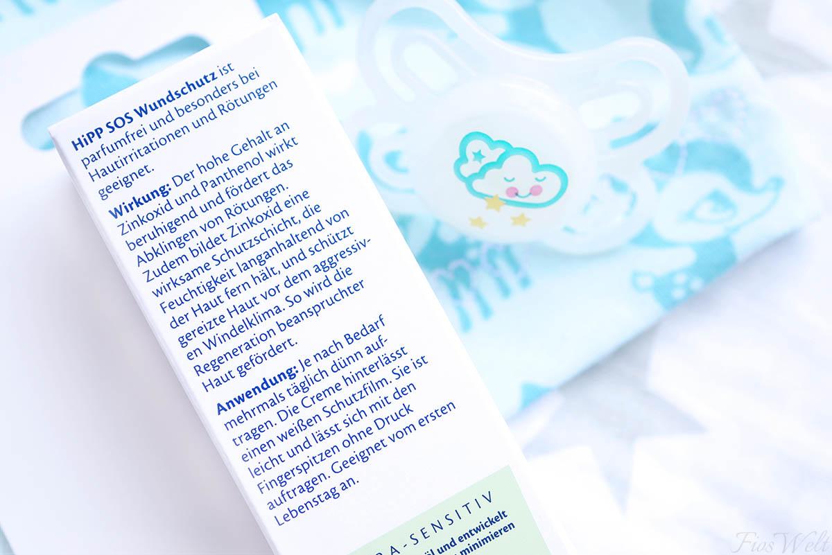 HiPP Babysanft SOS Wundschutz Anwendung