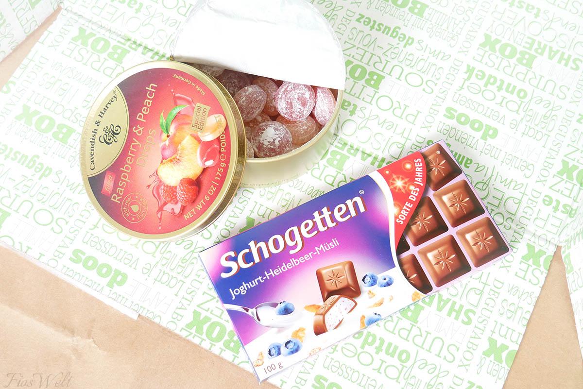Schogetten Joghurt Heidelbeer Müsli