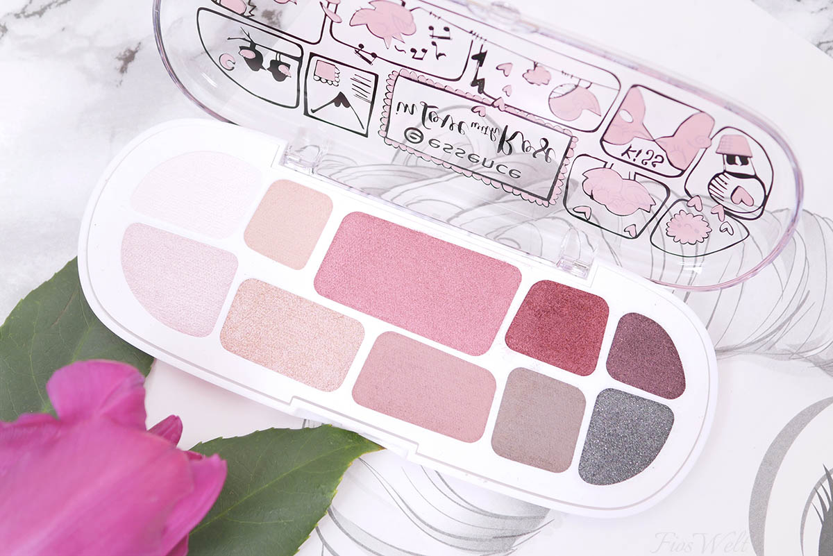 essence In Love With Rose Palette Farben