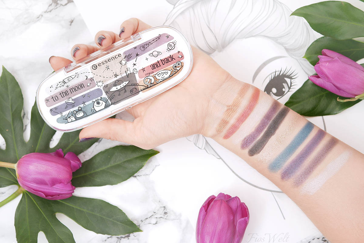 essence to the moon and back Swatch