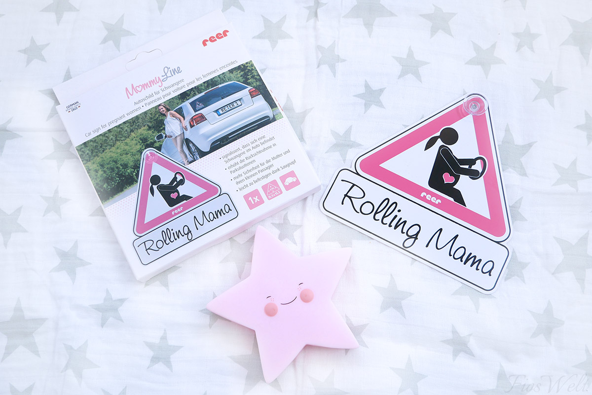 reer MommyLine Autoschild