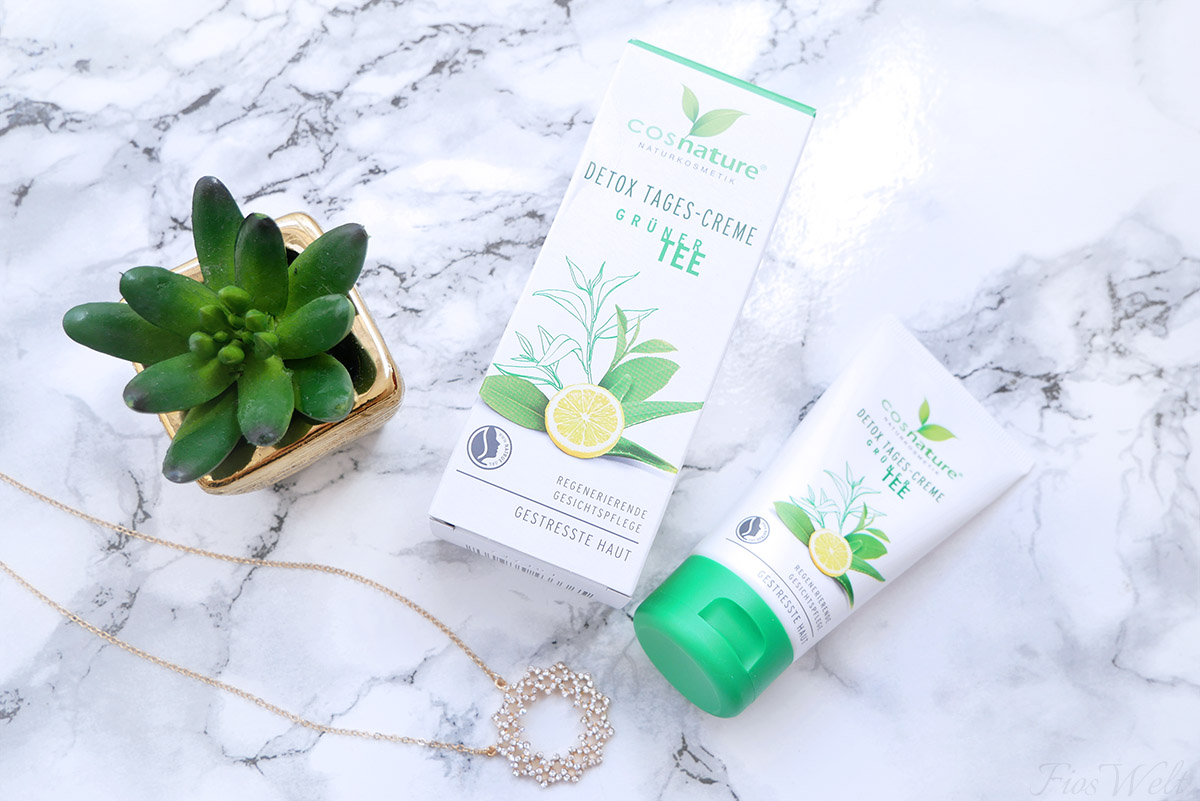 cosnature-Detox Tages Creme Grüner Tee